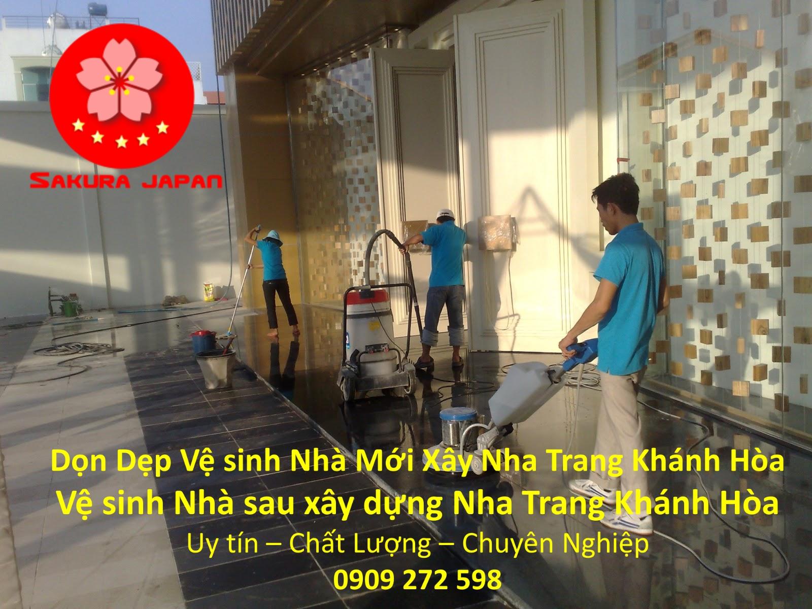 Công Ty Vệ Sinh Nhà Mới Xây Nha Trang Khánh Hòa