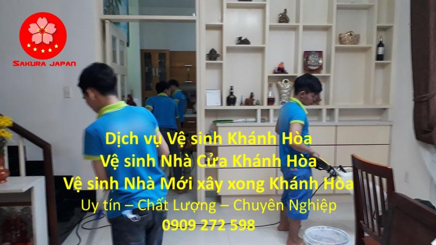 Dịch vụ Vệ Sinh Nhà Ở Khánh Hòa Uy Tín