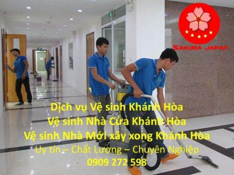 Dịch vụ Vệ Sinh Nhà Ở Khánh Hòa
