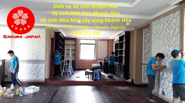Công Ty Dịch vụ Vệ Sinh Nhà Ở Khánh Hòa