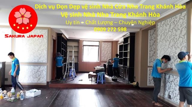 Dọn Dẹp vệ sinh Nhà Cửa Nha Trang Khánh Hòa Chuyên Nghiệp 4