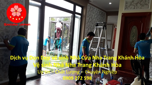 Dọn Dẹp vệ sinh Nhà Cửa Nha Trang Khánh Hòa Uy Tín