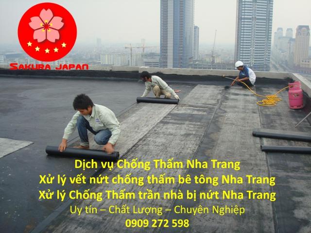 Dịch vụ Xử lý chống thấm tường Nha Trang