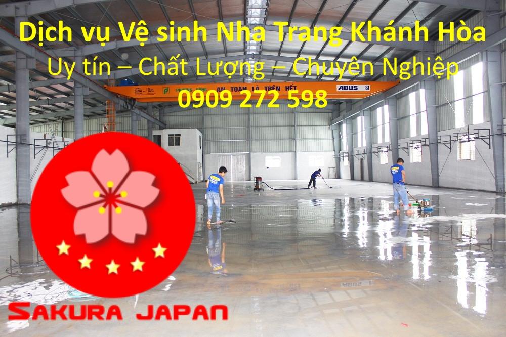 Dịch vụ Vệ sinh Nhà Nha Trang Khánh Hòa