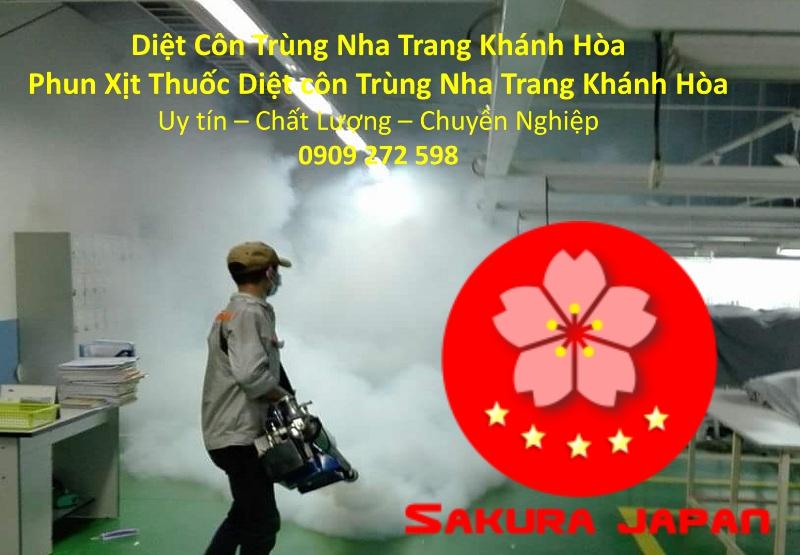 Diệt Côn Trùng Nha Trang Khánh Hòa Giá Rẻ