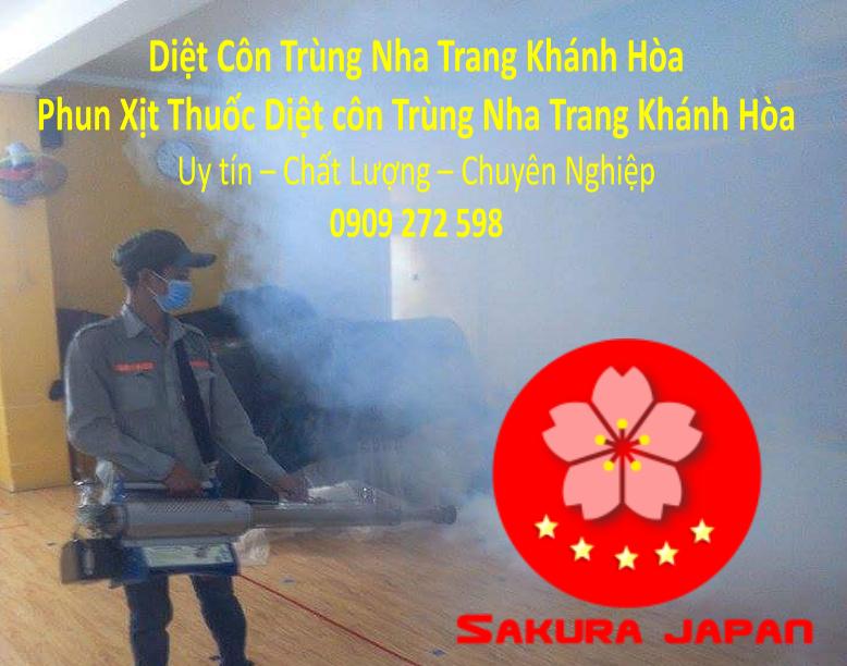 Dịch vụ Diệt Côn Trùng Nha Trang Khánh Hòa