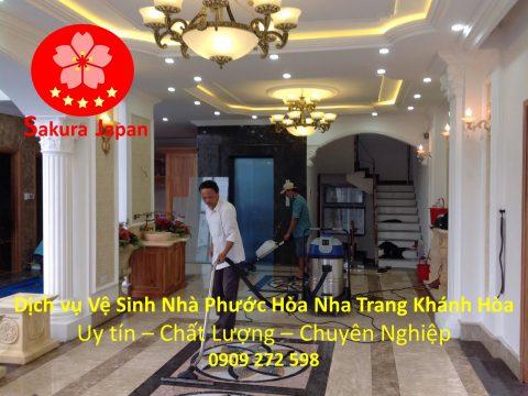 Vệ Sinh Nhà Phước Long Nha Trang