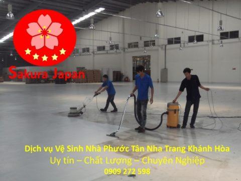 Vệ Sinh Nhà Phước Tân Nha Trang