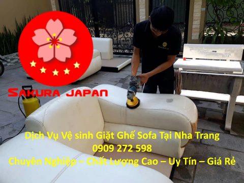 Bảng Giá Giặt Ghế Sofa Tại Nha Trang