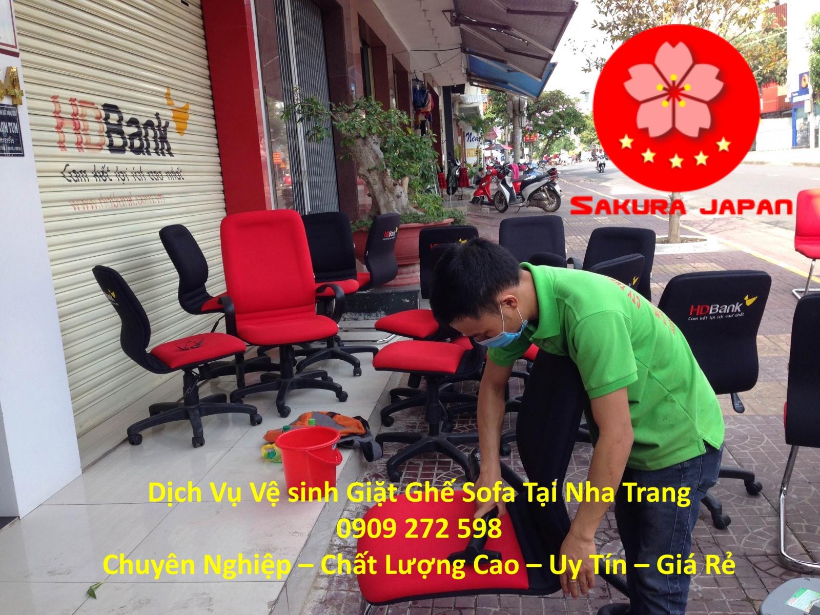 Giặt Vệ Sinh Ghế Sofa tại Nha Trang Chuyên Nghiệp Nhất