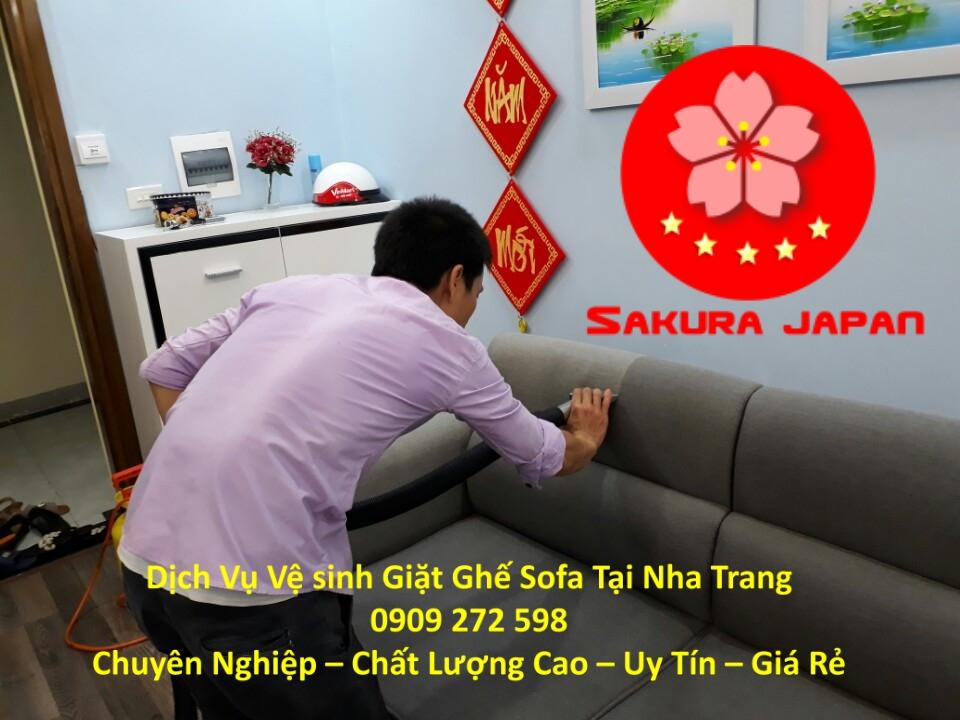 Dịch Vụ Giặt Ghế Sofa Giá Rẻ tại Nha Trang Uy Tín Nhất