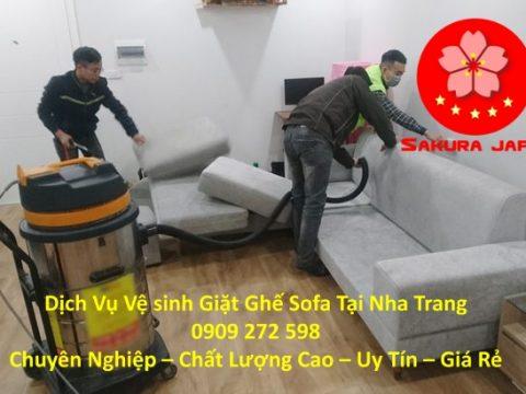 Giặt Ghế Sofa Chuyên Nghiệp Tại Nha Trang