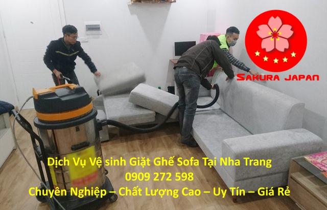 Giặt Ghế Sofa Chuyên Nghiệp Tại Nha Trang Chuyên Nghiệp Nhất