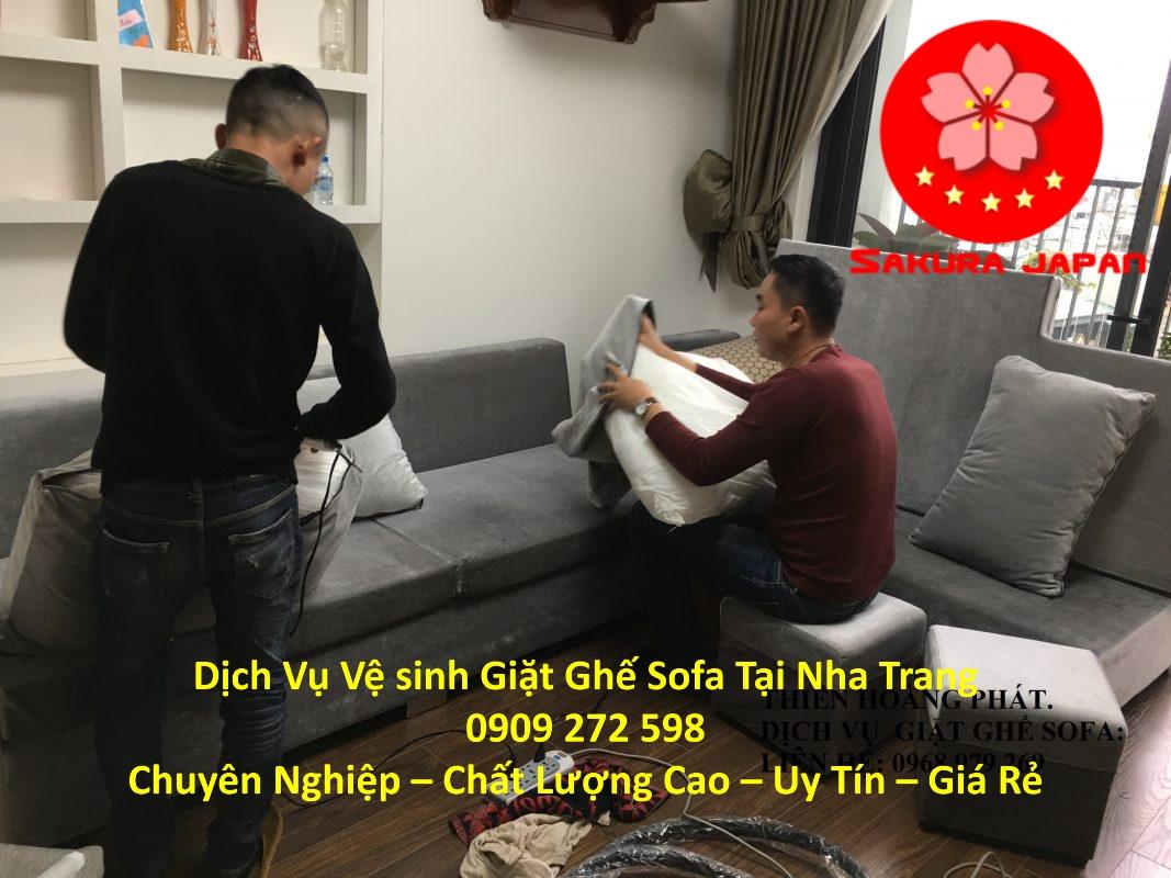 Dịch Vụ Giặt Sofa Tại Nha Trang Uy Tín Nhất