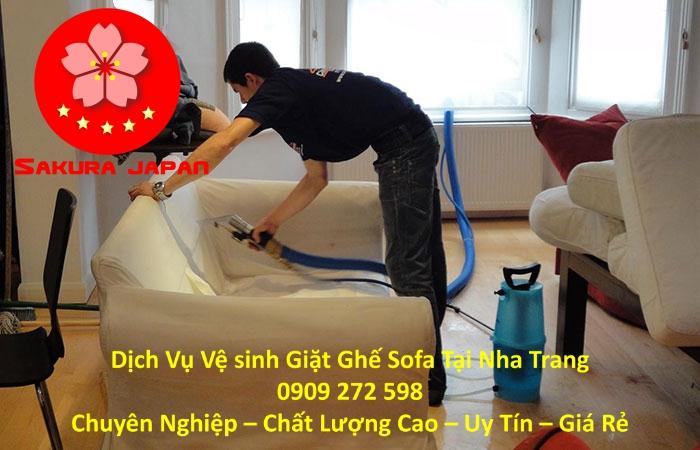 Dịch vụ Giặt Ghế Sofa Chuyên Nghiệp Tại Nha Trang Uy Tín Nhất