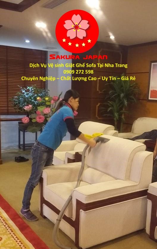 Giặt Ghế Sofa Giá Rẻ tại Nha Trang Chuyên Nghiệp Nhất