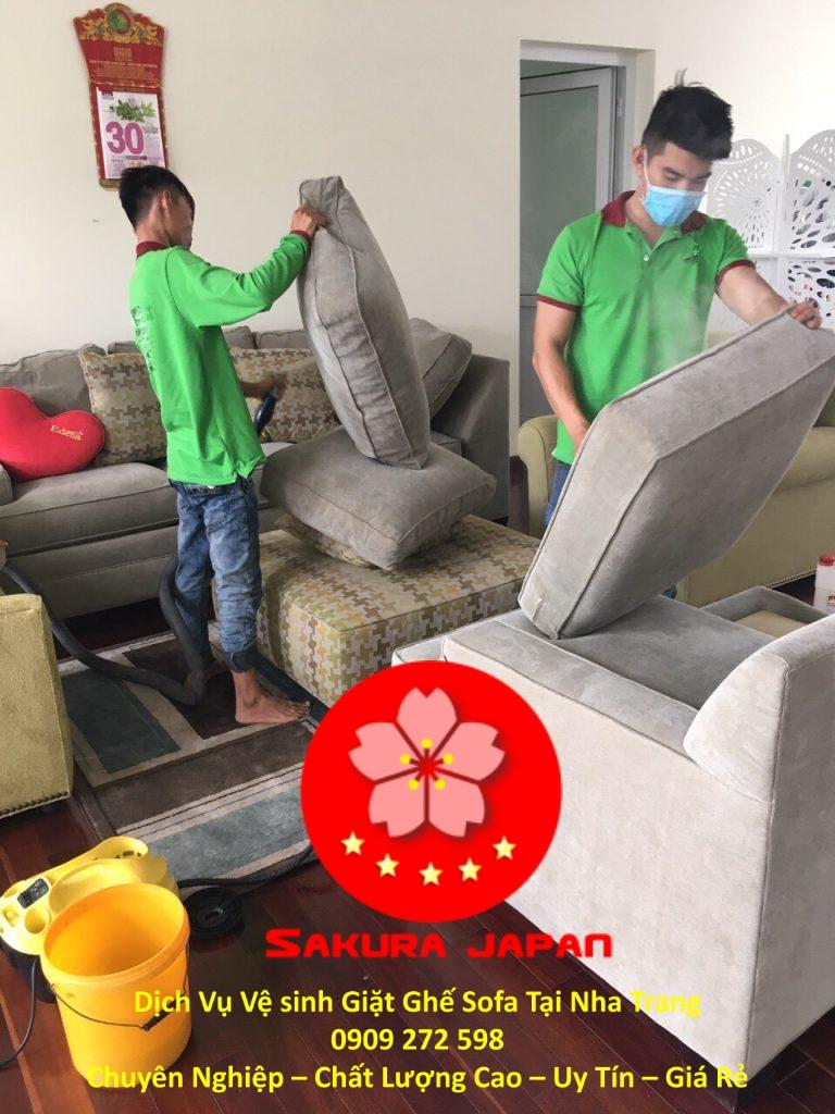 Giặt Sofa Tại Nha Trang Giá Rẻ Chuyên Nghiệp Nhất