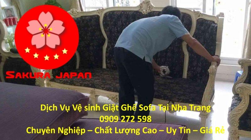 Giặt Sofa Tại Nha Trang Chuyên Nghiệp Uy Tín Nhất