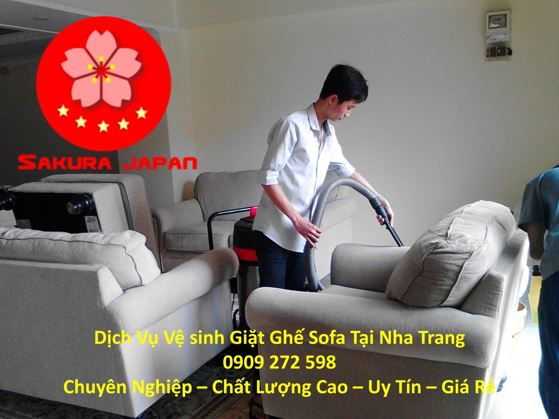 Dịch Vụ Vệ Sinh Giặt Sofa Khách Sạn Tại Nha Trang Uy Tín Nhất