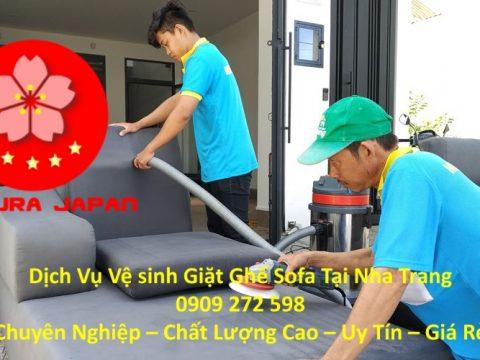 Vệ Sinh Ghế Nỉ Tại Nha Trang
