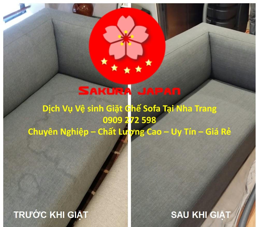 Dịch Vụ Giặt Ghế Sofa Giá Rẻ tại Nha Trang Chuyên Nghiệp Nhất