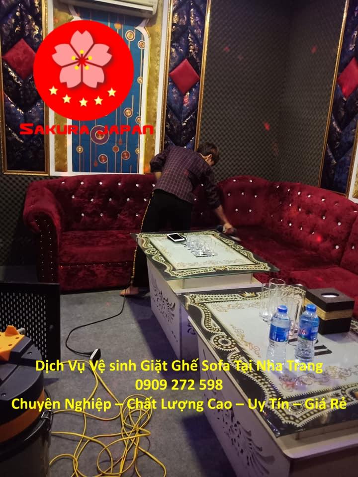 Dịch Vụ Giặt Ghế Sofa Khách Sạn Tại Nha Trang Chuyên Nghiệp Nhất
