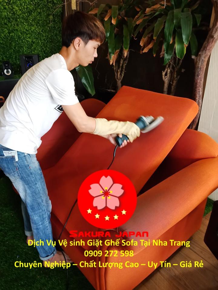 Dịch Vụ Giặt Ghế Sofa Khách Sạn Tại Nha Trang Uy Tín Nhất