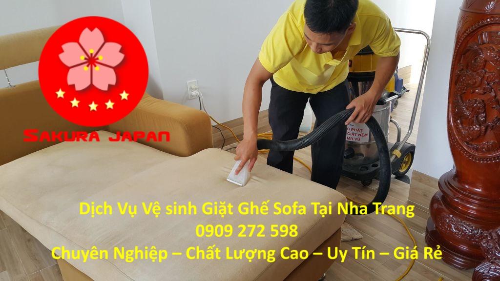 Dịch vụ Giặt Vệ Sinh Ghế Sofa tại Nha Trang Uy Tín Nhất