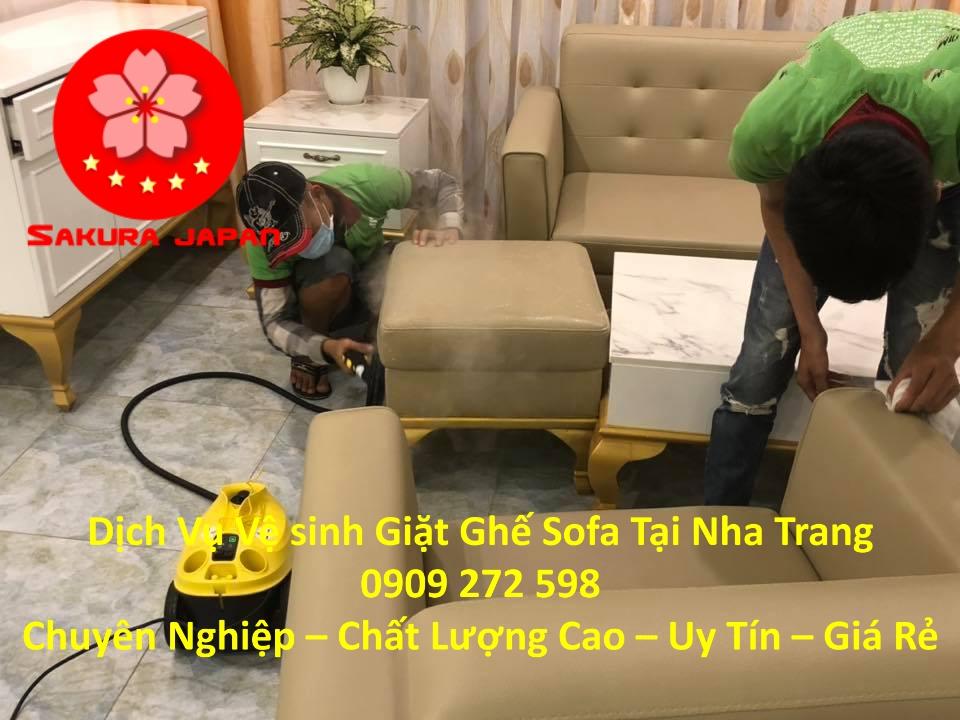 Dịch vụ Giặt Vệ Sinh Ghế Sofa tại Nha Trang Chuyên Nghiệp Nhất