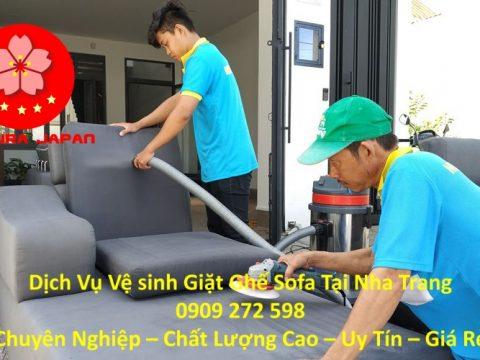 Dịch vụ Giặt Vệ Sinh Ghế Sofa tại Nha Trang