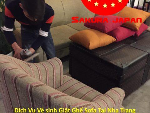 Vệ Sinh Giặt Sofa Khách Sạn Tại Nha Trang