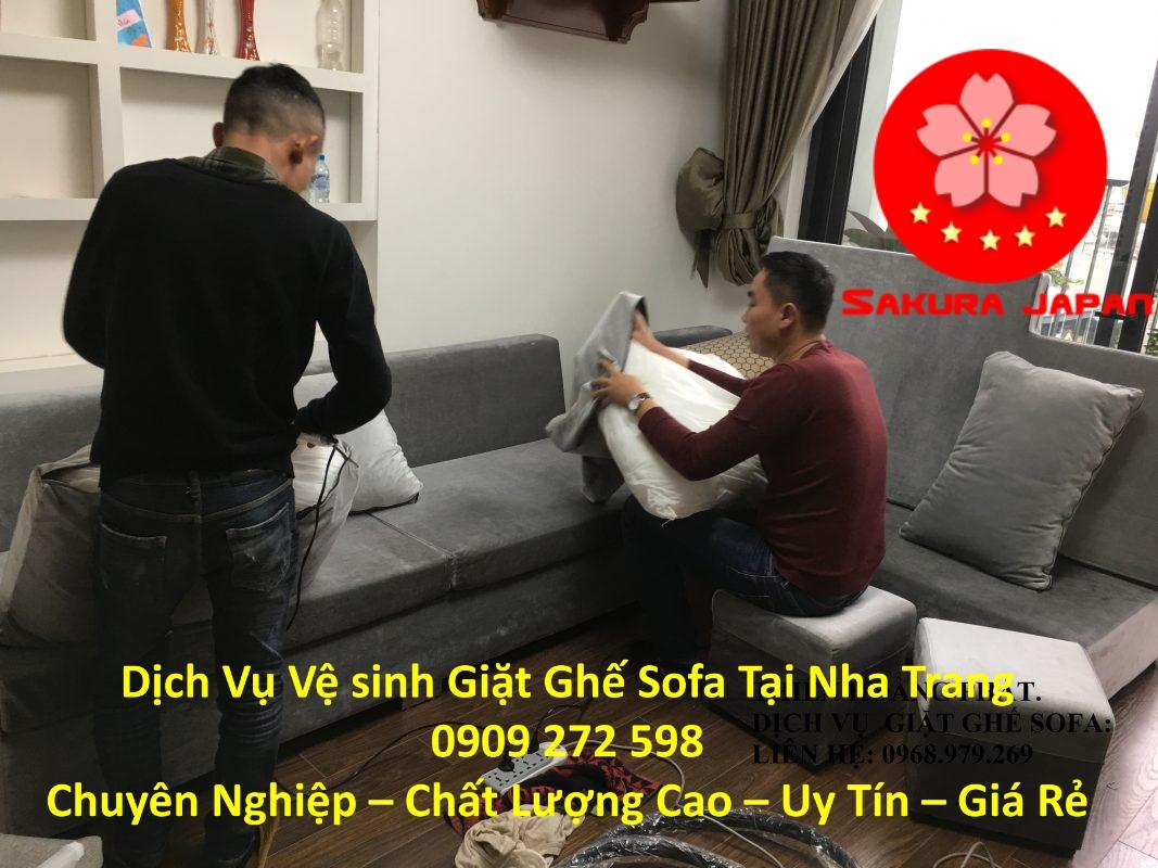 Dịch Vụ Vệ Sinh Sofa Tại Nhà Tại Nha Trang Uy Tín Nhất