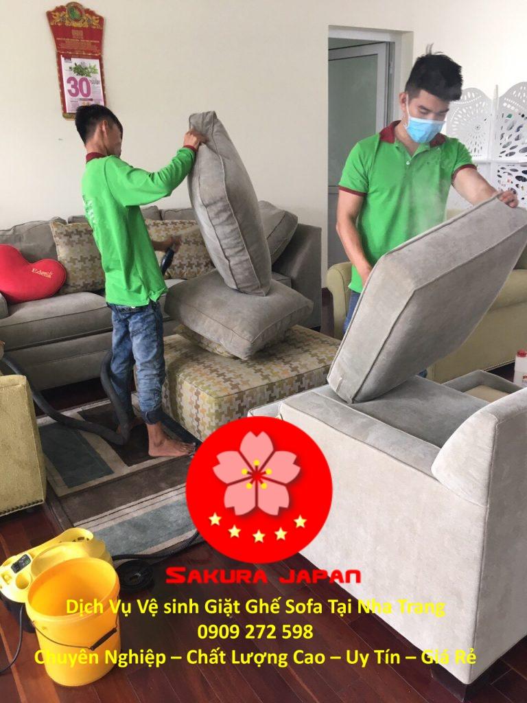 Vệ Sinh Sofa Tại Nha Trang Giá Rẻ Chuyên Nghiệp Nhất
