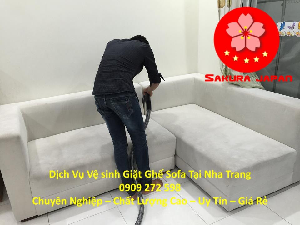Dịch vụ Giặt Ghế Sofa Chuyên Nghiệp Tại Nha Trang Giá Rẻ Nhất