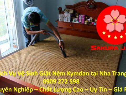 Giặt Nệm Kymdan Tại Nha Trang