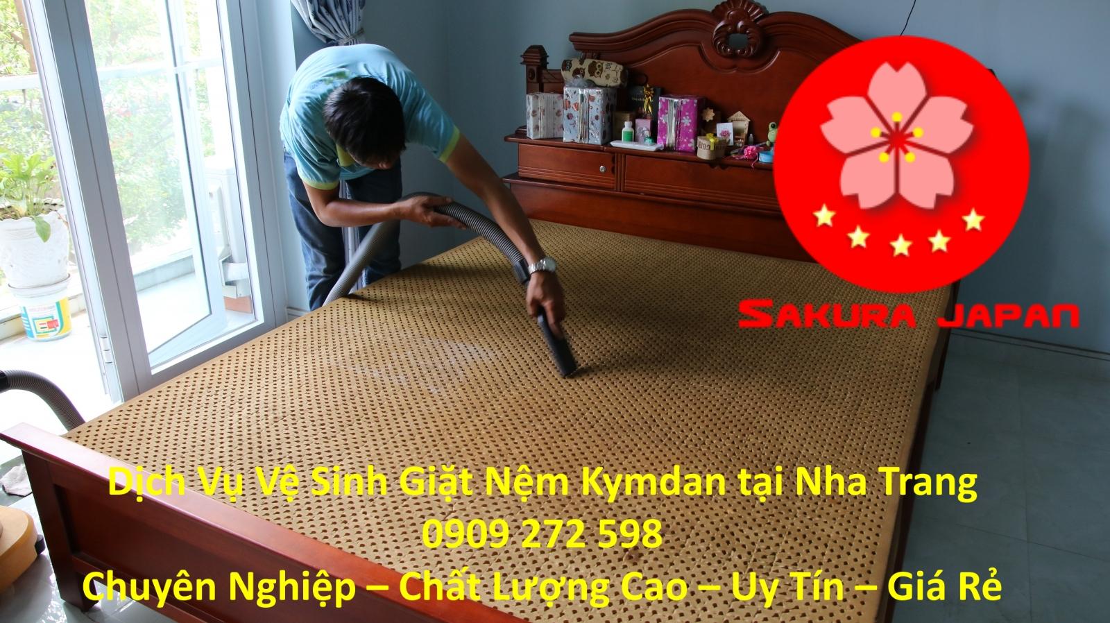 Dịch vụ Vệ Sinh Giặt Nệm Kymdan Tại Nha Trang Uy Tín Nhất