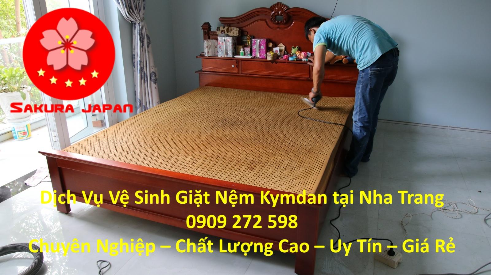 Dịch vụ Vệ Sinh Giặt Nệm Kymdan Tại Nha Trang Chuyên Nghiệp Giá Rẻ Nhất