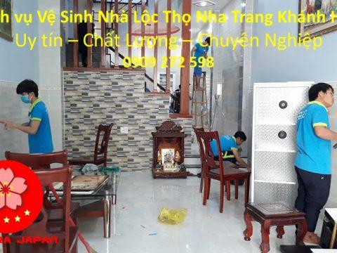Vệ Sinh Nhà Cửa Tại Nha Trang Lộc Thọ