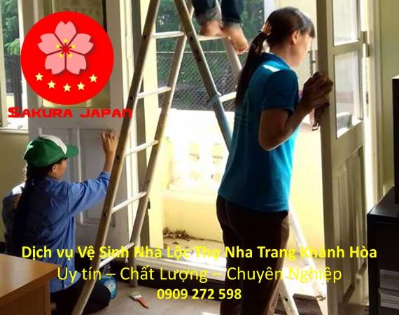 Dịch Vụ Vệ Sinh Nhà Cửa Tại Nha Trang Lộc Thọ Giá Rẻ Nhất