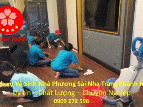 Vệ Sinh Nhà Cửa Tại Nha Trang Phương Sài