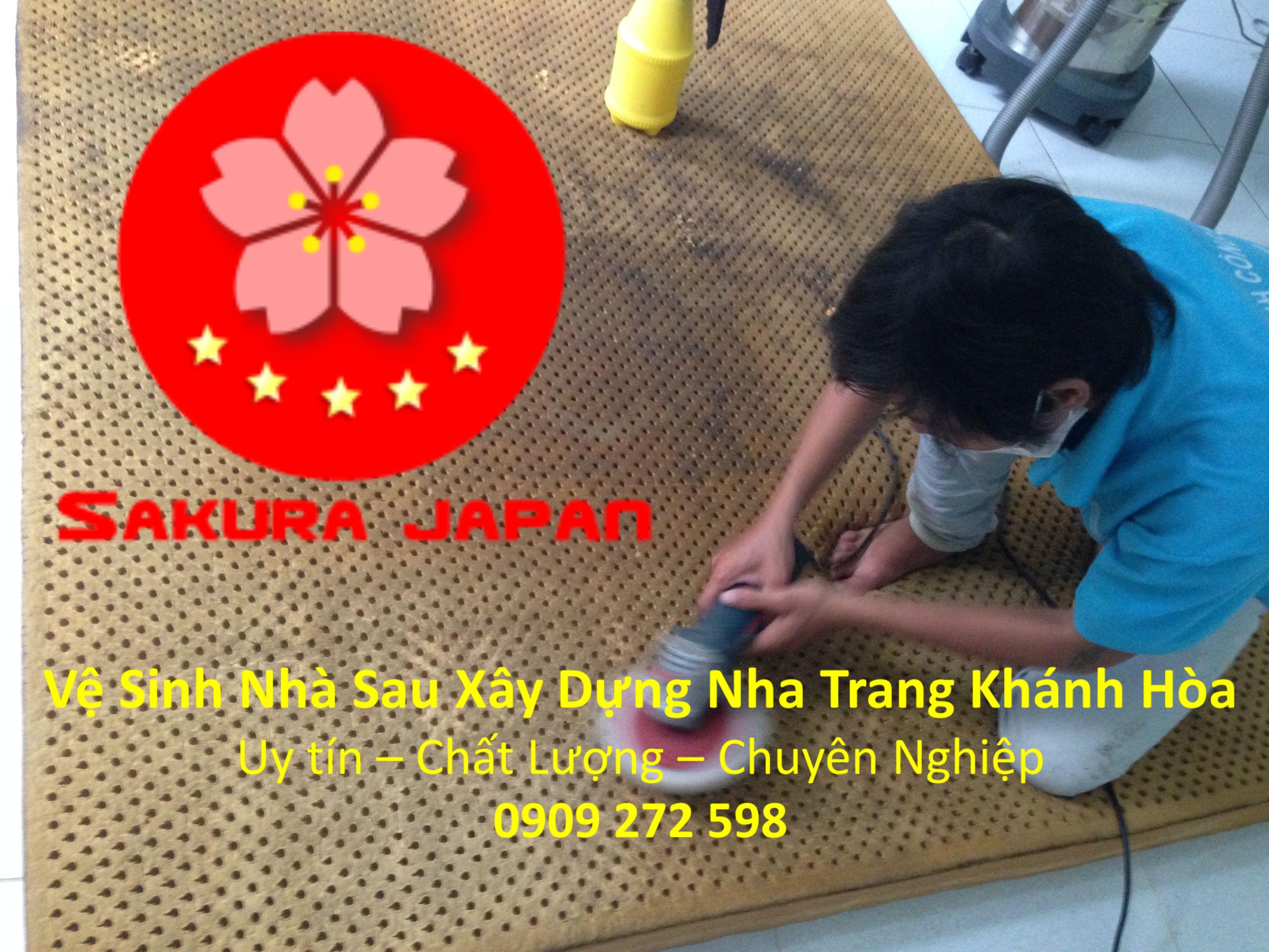 Dịch vụ Giặt Nệm Bông tại Nha Trang Giá Rẻ Uy Tín Nhất