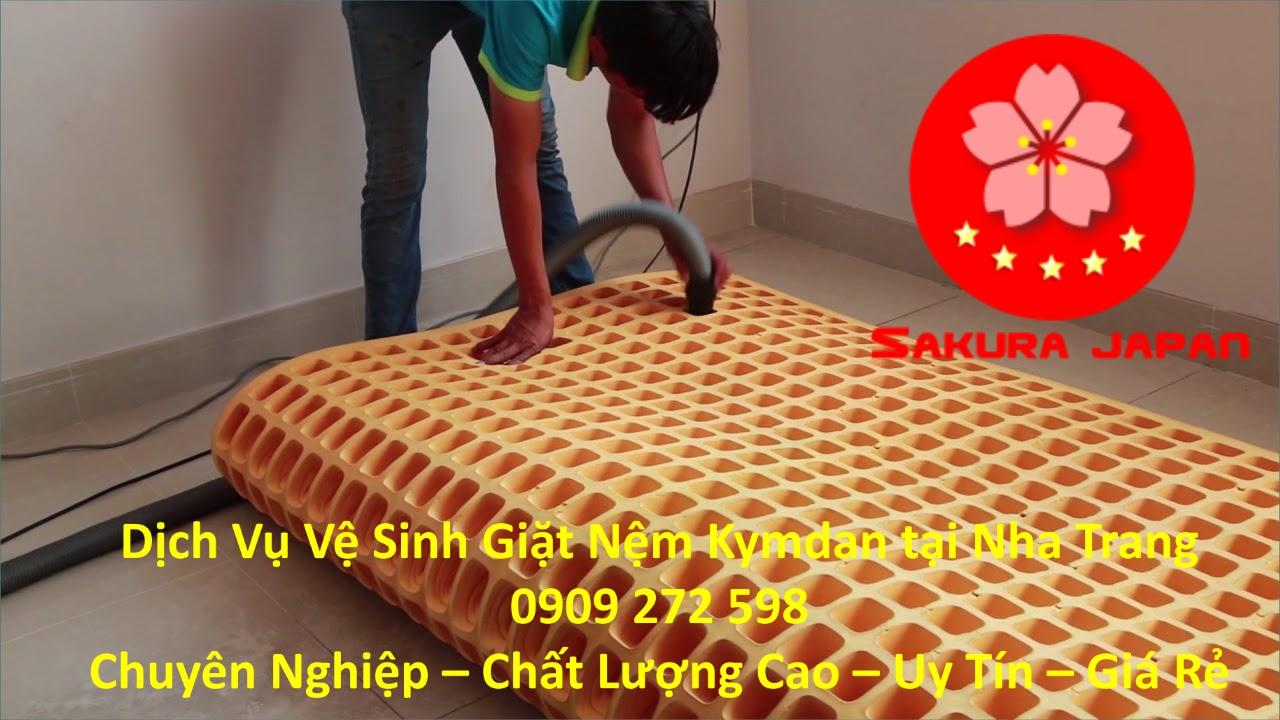 Dịch vụ Vệ Sinh Giặt Nệm Kymdan Tại Nha Trang Chuyên Nghiệp Nhất
