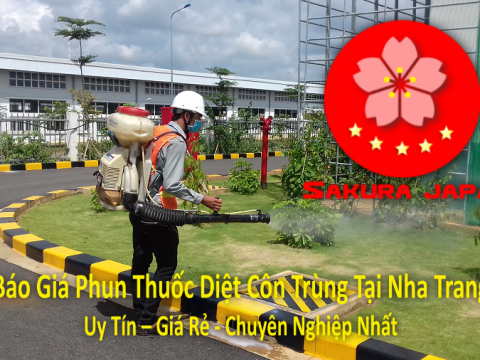 Báo Giá Phun Thuốc Diệt Côn Trùng Tại Nha Trang