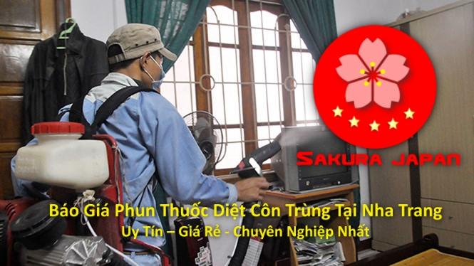 Báo Giá Phun Thuốc Diệt Côn Trùng Tại Nha Trang Uy Tín