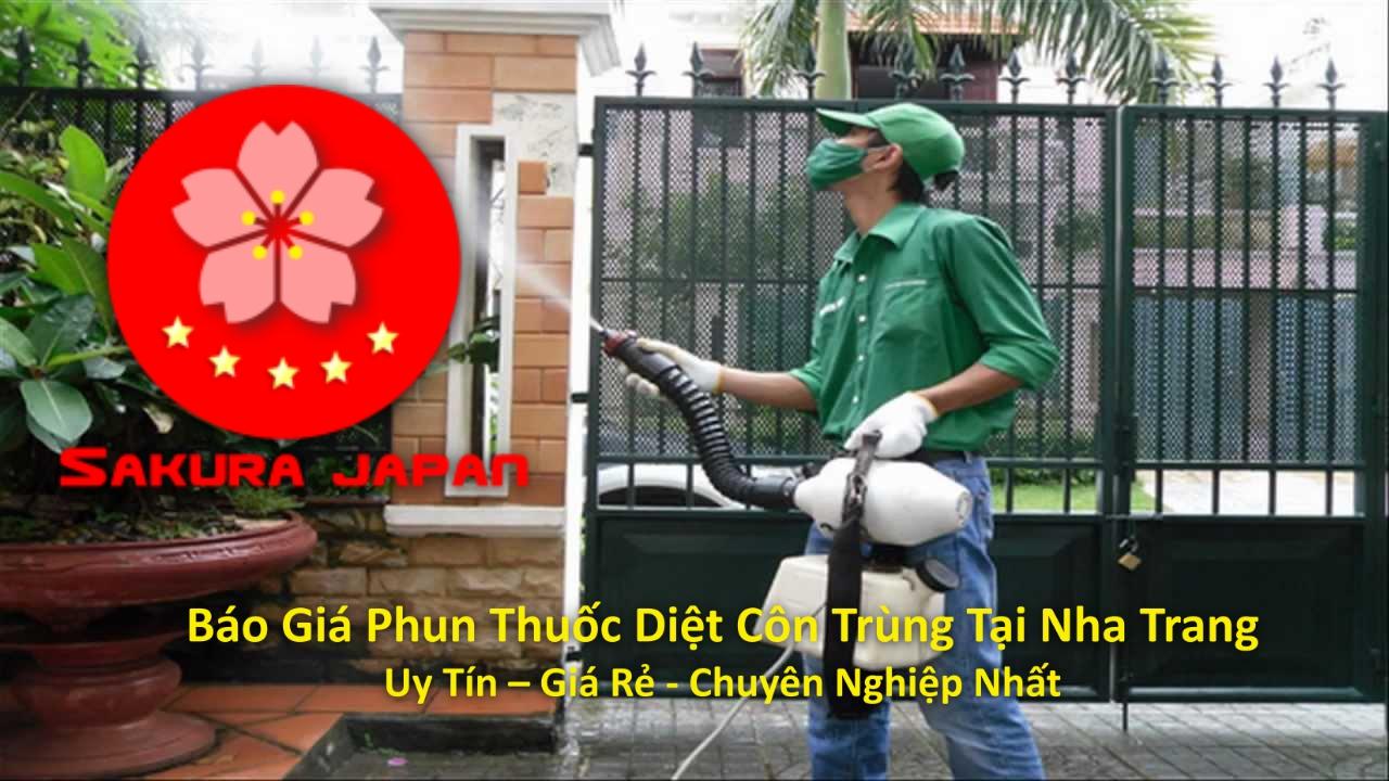 Báo Giá Phun Thuốc Diệt Côn Trùng Tại Nha Trang Chuyên Nghiệp