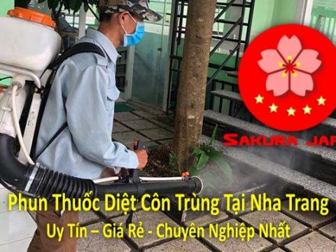 Phun Thuốc Diệt Côn Trùng Tại Nha Trang