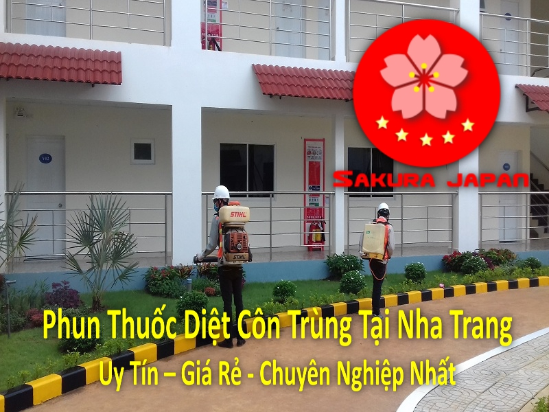 Phun Thuốc Diệt Côn Trùng Tại Nha Trang Chuyên Nghiệp Giá Rẻ Uy Tín