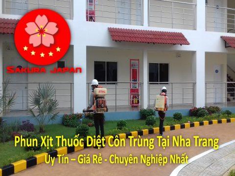 Phun Xịt Thuốc Diệt Côn Trùng Tại Nha Trang