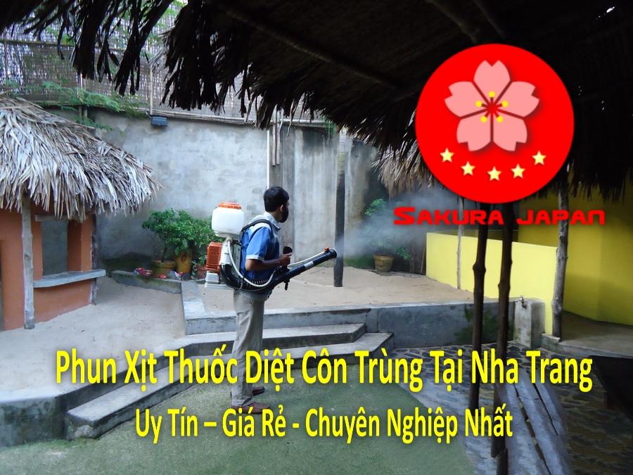 Phun Xịt Thuốc Diệt Côn Trùng Tại Nha Trang Chuyên Nghiệp Giá Rẻ