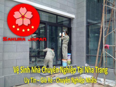 Vệ Sinh Nhà Chuyên Nghiệp Tại Nha Trang (Tạm Ngưng Cung Cấp Dịch Vụ Này)